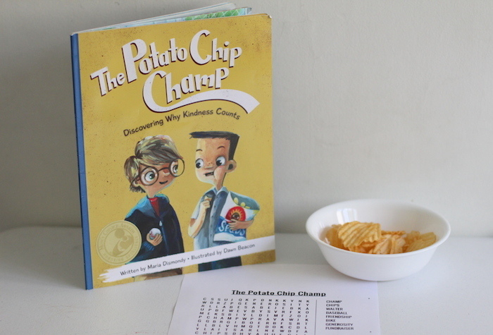 The Potato Chip Champ is a great story for kids to learn about jealousy and kindness in a fun way