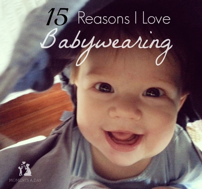 Why I have practiced babywearing with all three of my kids