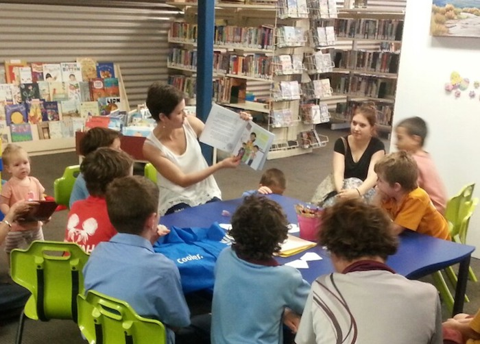 Longreach Library book reading of Mason's Greatest Gems