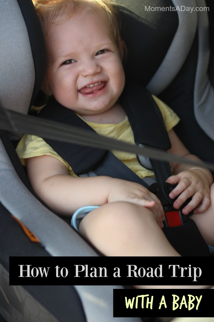 Tips to make road trips with a baby fun for everyone