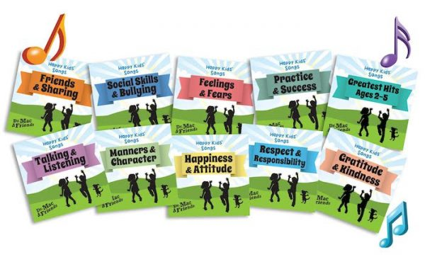Amazing set of CDs to help kids build character plus social and emotional skills