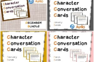 Review: Character Conversation Cards for Kids