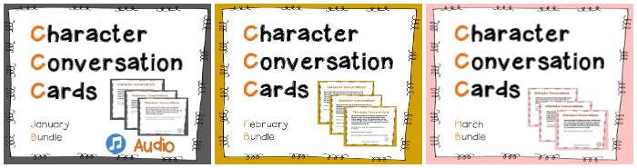 Character Conversation Tools are a great tool to use with kids