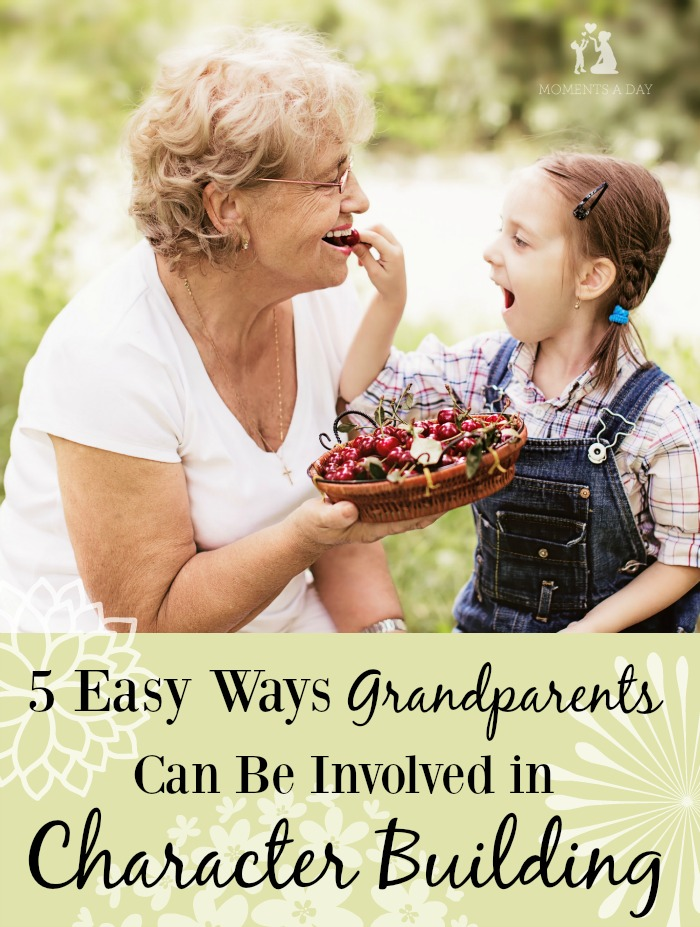 Grandparents can play a huge role in the character of their grandchildren - here are some fun ways to get involved