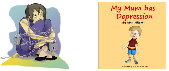 My Mum Has Depression is a resource book for children to learn about depression