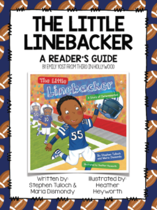 Free activities to go with the storybook The Little Linebacker
