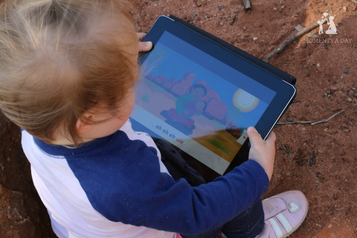 Our favourite app for babies and toddlers which encourages singing and reading