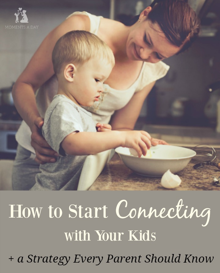 The secret of how to start connecting with your kids so you can start to reclaim the joy in parenting