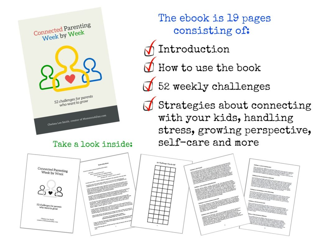 52 challenges for parents that want to grow in an easy to use printable ebook format