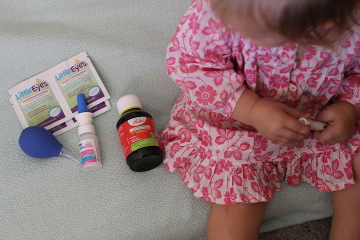 Printable Sick Day Activity Cards plus What to Do When a Baby Wakes Up Sick