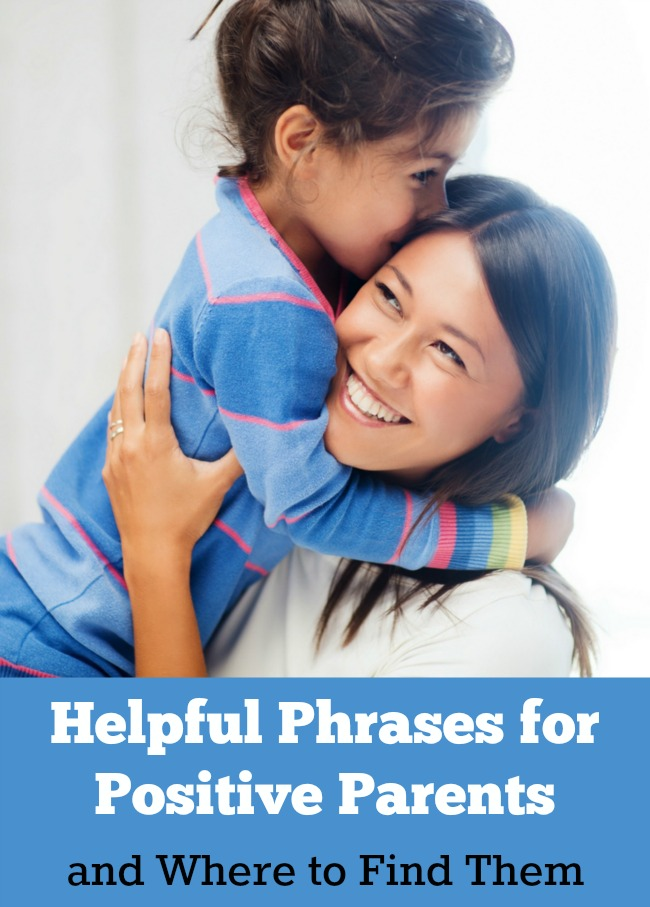 An excellent resource for finding positive phrases to use with young children
