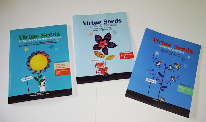 Virtue Seed Books are filled with activities to teach good character to kids