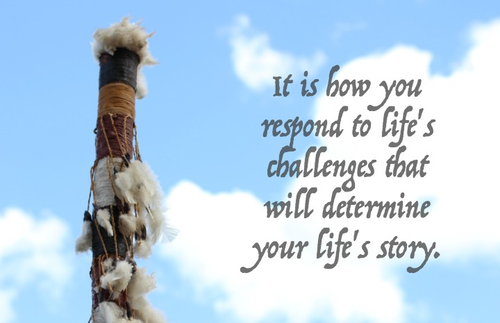 Your character is built through challenges you face, giving back paves the way for healing
