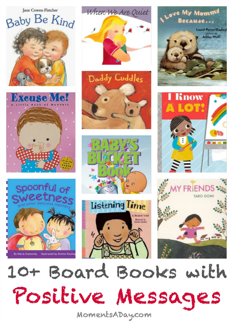 10+ board books with positive messages perfect gifts for new babies or toddlers