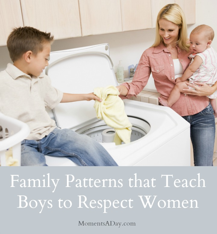 Advice and Suggestions about How to Teach Boys to Respect Women