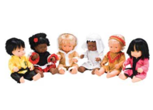 10 Fun Gifts and Toys that Include Diversity including doll clothes