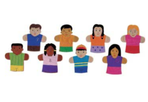 10 Fun Gifts and Toys that Include Diversity including these puppets