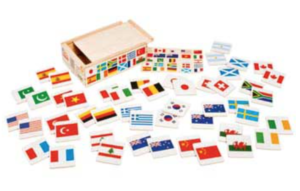 10 Fun Gifts and Toys that Include Diversity including this map matching game