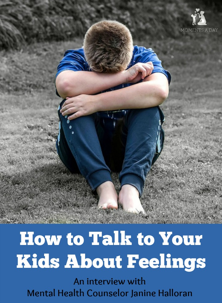 How to talk to your kids about feelings and why it is so important