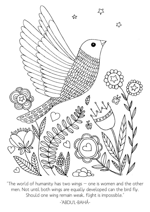 International womens day coloring pages ~ International Women's Day Activities {Free Printables ...
