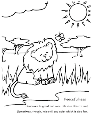 7 Free Colouring Pages for Kids on Positive Values - Moments A Day