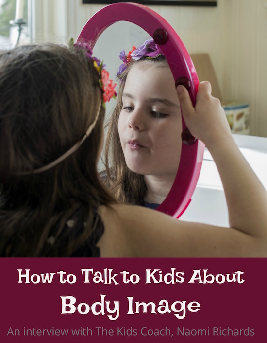 How to talk to kids about body image and body positivity