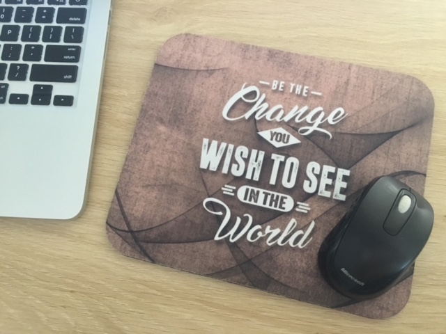 Motivational mousepads are excellent gifts