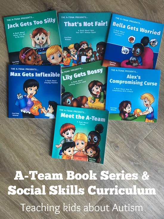 Teach Kids about Autism with the A-Team Book Series and Social Skills Curriculum
