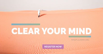 Learn to become more mindful with the Mindful in May program