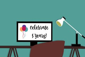 Celebrating 5 Years at MomentsADay.com