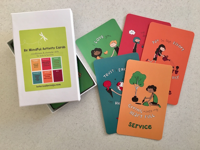 Be Mindful Activity Cards for Children and Adults