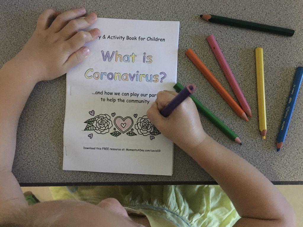 A free coronavirus activity book for kids