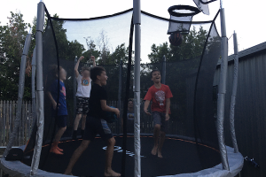 5 Cooperative Trampoline Games