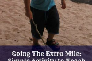 Going The Extra Mile: Being Determined