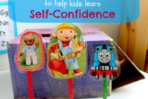 """Help Your Kids Practice """"Self-Confidence"""" Through Puppet Shows"""
