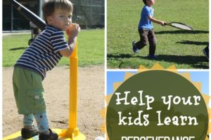 5 Activities To Help Your Kids Learn Perseverance