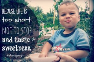 Because Life is Too Short (Magic Moments)