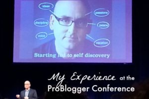 My Experience at the ProBlogger Conference