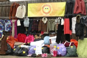 Pop Up Clothing Shop for Those in Need