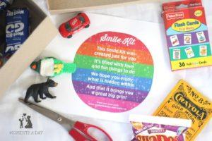 Free Printable Smile Kit poem