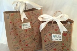 """Making """"We Care Kits"""" for the Homeless"""