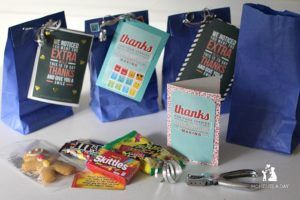 Easy and fun act of kindness for kids called Gratitude Goodie Bags