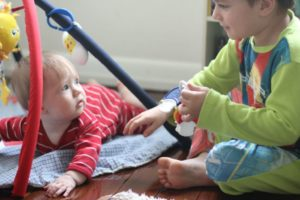 How to Play with a Baby – Tips for Teaching New Big Siblings
