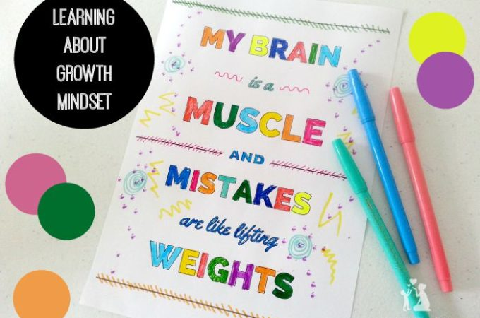 Free colouring page about growth mindset from The Reformed Idealist Mom