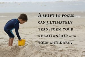 How to Transform Your Relationship With Your Kids {A Series}