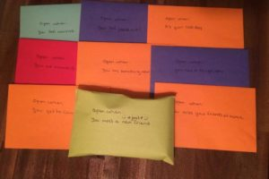 Open When Cards: Encourage Kids Facing a Challenge