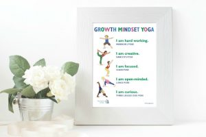 Growth Mindset Yoga Free Printable