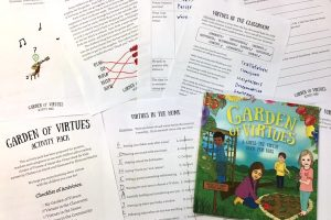 """Garden of Virtues"" Free Printable Activity Pack"