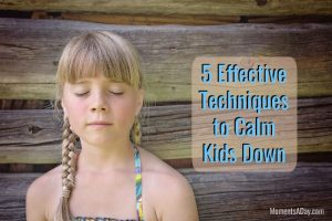 5 Videos of Effective Calm Down Techniques for Kids