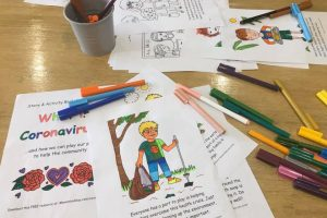 Coronavirus COVID19 Activity Book for Children (Free Printable)